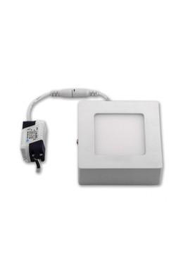 панель светодиодная накладная квадратной формы - 12 Вт