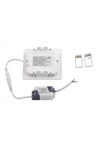 LED панель ультратонкая квадратная  9 (W)Вт