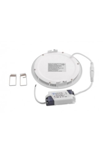 LED панель ультратонкая круглая - 12 (W)Вт