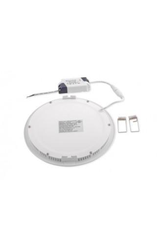 Светодиодная панель ультратонкая круглая - 18 Вт