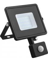 Светодиодный прожектор LED с датчиком движения 30Вт
