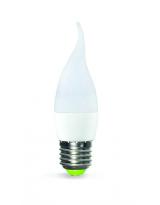 Лампа LED формы свеча на ветру 5 Вт