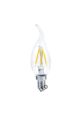 Лампа светодиодная свеча на ветру 5 Вт
