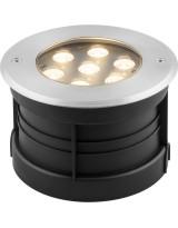 Светодиодный светильник тротуарный (грунтовый) 7W  RGB 230V IP67