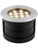 Светодиодный светильник тротуарный (грунтовый) 12W 6500K 230V IP67