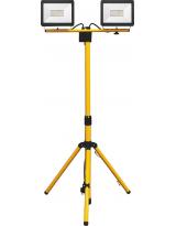 Светодиодный прожектор на штативе IP65 2*20W