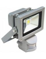 Прожектор светодиодный Hameleon с датчиком движения - 10W / IP65 / 670Лм