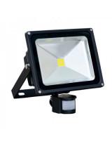 Светодиодный прожектор с датчиком движения 10 вт