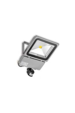Прожектор светодиодный с датчиком движения 80 Вт
