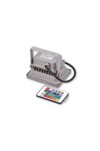 Прожектор светодиодный RGB 10 Вт