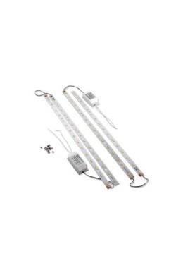 """Комплект LED линеек 24 Вт(W) для сборки светильника """"Амстронг"""""""