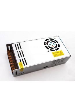 Блок питания IP 20 - 24 Вольта - 500 Вт (с кулером)