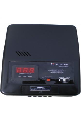 Стабилизатор напряжения релейныйного типа: SUNTEK 3000 ВА