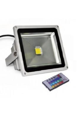Прожектор LED_RGB c пультом управления - 30 Вт(W)